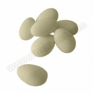 Ivory Sugared Almonds - 50pk