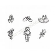Ballet Embossing Sticks - 6/set