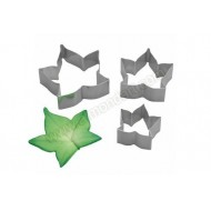 Ivy Leaf Cutters - Set Of 3
