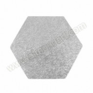 "13"" Hexagonal Cake Board"