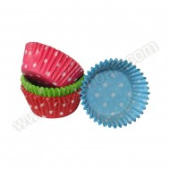 Polka Dot Muffin Cases - 100pk