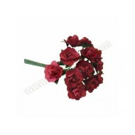 Red Miniature Tea Rose - 12pk