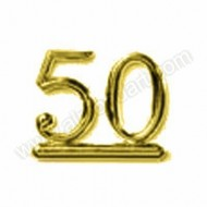 50 - Gold Numeral