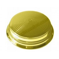 14&quot; Round Gold Cake Stand
