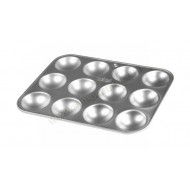 "12"" x 9"" Twelve Hole Tart Tray"
