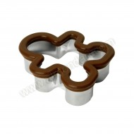 Soft Grip Gingerbread Cookie Cutter