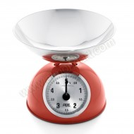 Red Retro Mechanical Scale