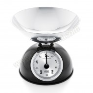 Black Retro Mechanical Scale