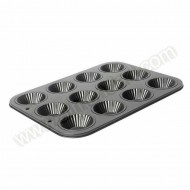 Fluted 12 Cup Tartlet Pan
