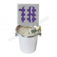 18th Ice Bucket Decoration Keepsake