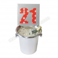 21st Ice Bucket Decoration Keepsake