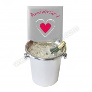 Anniversary Ice Bucket Decoration Keepsake