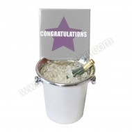 Congratulations Ice Bucket Decoration Keepsake