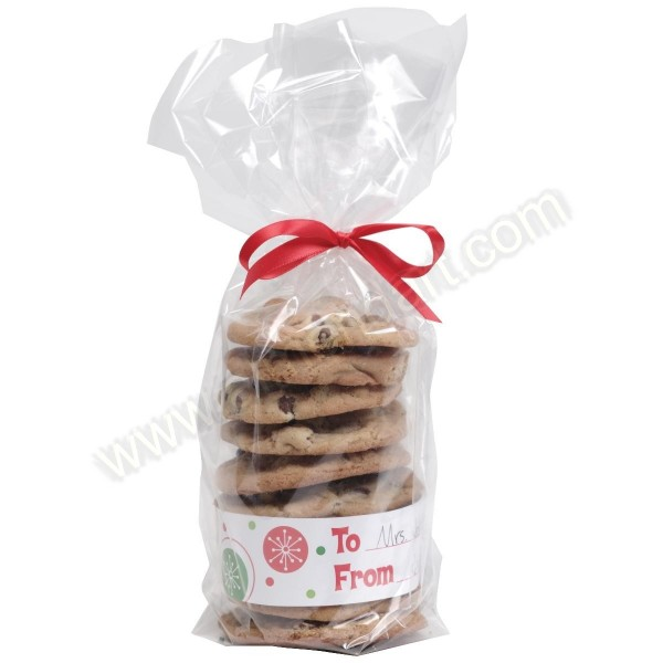 Christmas cookie treat bags pk almond art