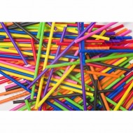 Assorted Colours Pop Lolly Sticks - 25pk