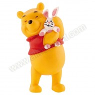 Winne the Pooh with Rabbit - Keepsake Figure