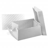 "13"" x 9"" Cake Box & Oblong 3mm Board"