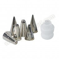 6 Icing Nozzles &amp; Adaptor