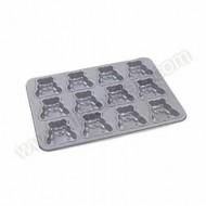 Teddy Mould 12 Cup Cake Pan