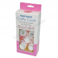 Crafty Cook Decorating Nozzles & Piping Set