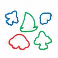Transport Cookie Cutter Set of 5