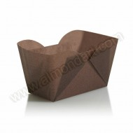Brown Mini Loaf Cases - 24pk