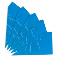 """5 x 18"""" Blue Disposable Piping Bag"""
