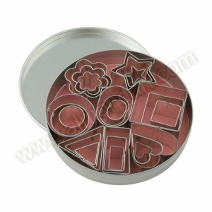 Set Of 24 Miniature Cookie/Aspic Cutters