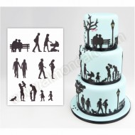 Family Silhouette Cutter Set