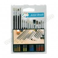 15 Assorted Dusting Brushes