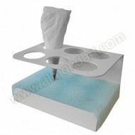 Royal icing bag stand