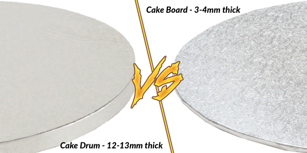 Cake Board vs Cake Drum