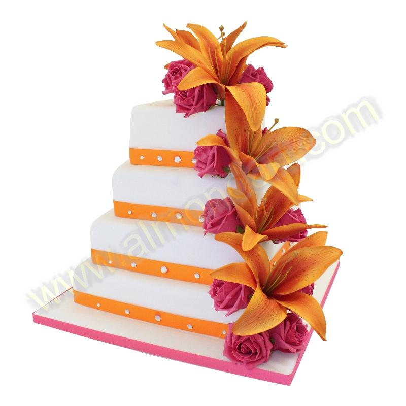 Almond Art Cake Decorating : Wedding Cake Ideas - Almond Art