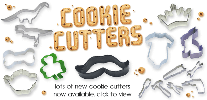 New cookie cutters