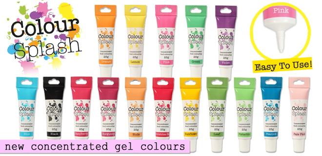Colour Splash Concentrated Gel Food Colours