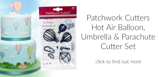 Hot Air Balloons, Umbrella & Parachute Cutter Set