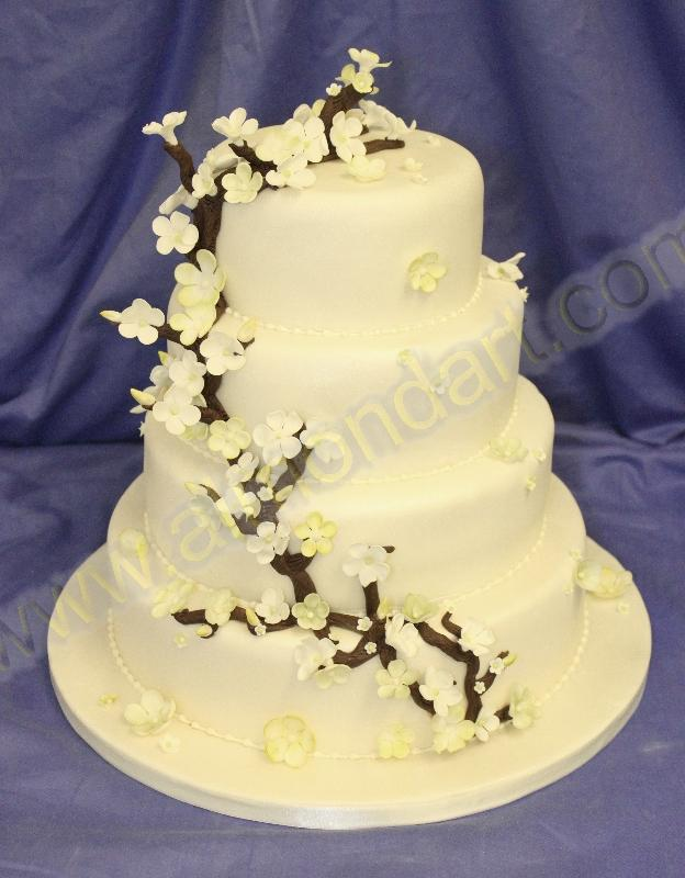 Wedding Cake Ideas Almond Art